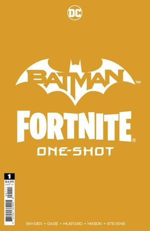 DF BATMAN FORTNITE ONESHOT #1 ELTIE SNYDER GOLD SGN