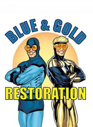 DF BLUE & GOLD #4 ELITE JURGENS GOLD SGN