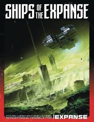 SHIPS OF THE EXPANSE RPG HC