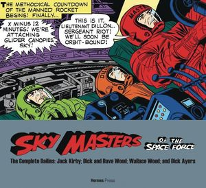 SKY MASTERS OF SPACE FORCE COMP DAILIES 1958-1961 SC (APR201