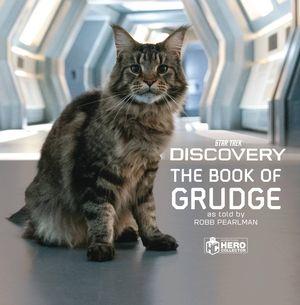 STAR TREK DISCOVERY BOOK OF GRUDGE BOOKS CAT HC