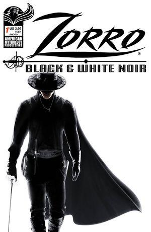 ZORRO BLACK & WHITE NOIR #1 CVR C PHOTO