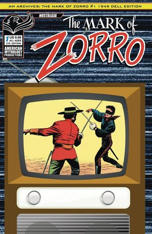 AM ARCHIVES MARK OF ZORRO 1949 1ST APP #1 LTD ED CVR (O/A)