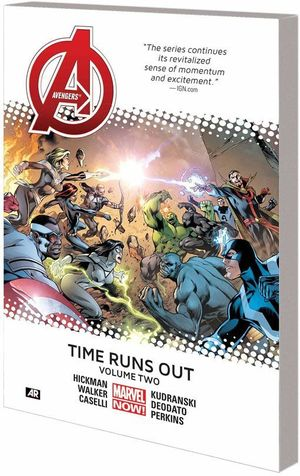 AVENGERS TIME RUNS OUT HC (2014) #2