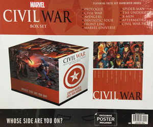 CIVIL WAR BOX SET SLIPCASE HC #1