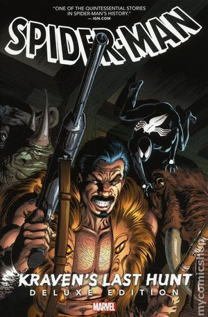 SPIDER-MAN KRAVEN'S LAST HUNT HC (2018 MARVEL) DELUXE EDITION