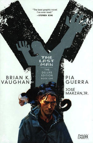 Y THE LAST MAN DELUXE EDITION HC #1