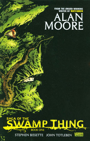 SAGA OF THE SWAMP THING TPB BOOK