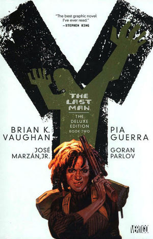 Y THE LAST MAN DELUXE EDITION HC #2