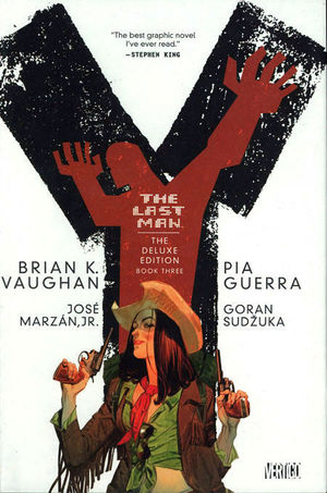 Y THE LAST MAN DELUXE EDITION HC #3