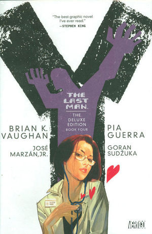 Y THE LAST MAN DELUXE EDITION HC #4