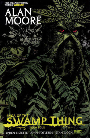 SAGA OF THE SWAMP THING TP BOOK #4