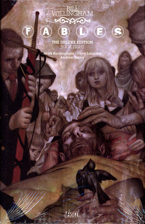 FABLES DELUXE EDITION HC #8