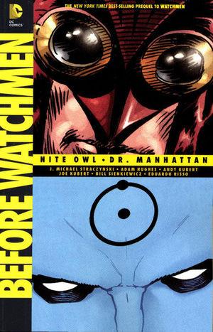 BEFORE WATCHMEN NITE OWL DR MANHATTAN TP