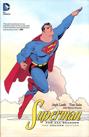 SUPERMAN FOR ALL SEASONS DELUXE ED HC #1