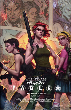 FABLES DELUXE EDITION HC #10