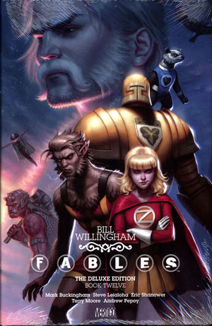 FABLES DELUXE EDITION HC #12