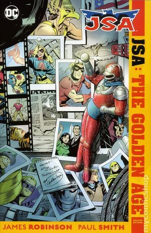 JSA THE GOLDEN AGE HC (2017 DC) DELUXE EDITION