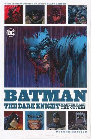 BATMAN DARK KNIGHT MASTER RACE COVERS DLX ED HC #1