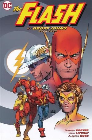 FLASH BY GEOFF JOHNS TP #4