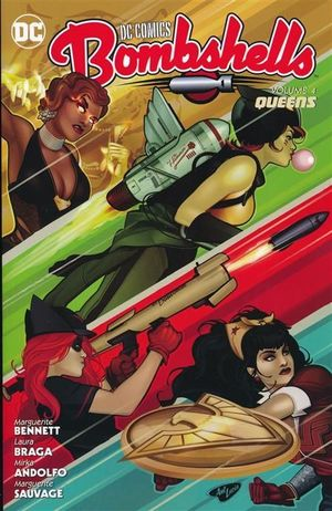 DC COMICS BOMBSHELLS TPB (2016) #4