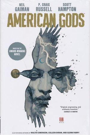 NEIL GAIMAN AMERICAN GODS HC #1