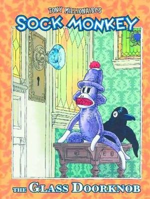 SOCK MONKEY THE GLASS DOOR KNOB HC (2002) #1