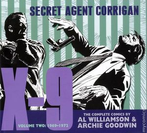 X-9 SECRET AGENT CORRIGAN HC (2010 IDW) #2