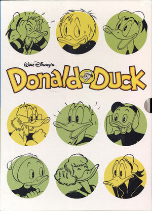 WALT DISNEY DONALD DUCK HC BOX SET #1