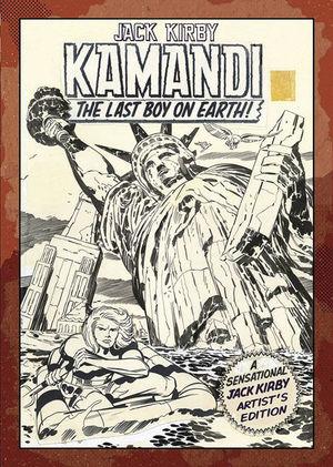 JACK KIRBY KAMANDI ARTIST EDITION HC