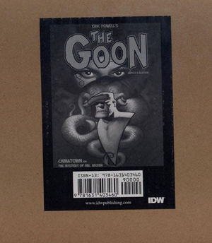 ERIC POWELLS THE GOON CHINATOWN ARTIST ED HC