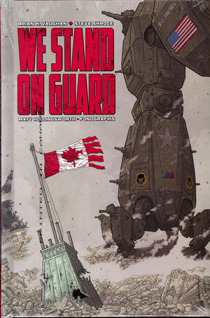 WE STAND ON GUARD DLX HC #1