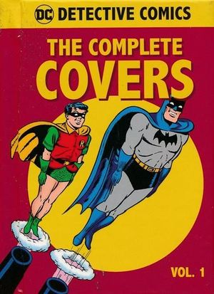 DC COMICS DETECTIVE COMICS COMP COVERS MINI HC #1