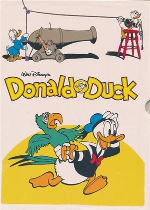 WALT DISNEY DONALD DUCK HC BOX SET #3