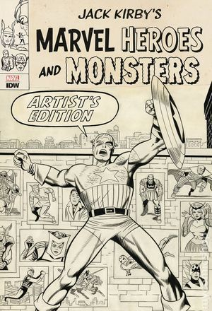 MARVEL HEROES AND MONSTERS ARTISTS ED