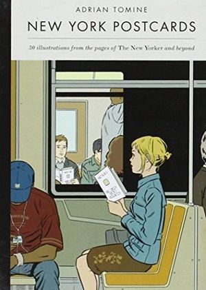 NEW YORK POSTCARDS ADRIAN TOMINE #1
