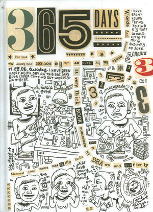 365 DAYS A DIARY BY JULIE DOUCET HC #1
