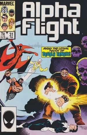 ALPHA FLIGHT (1983 1ST SERIES) #31