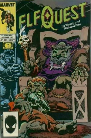 ELFQUEST (1985 MARVEL) #27