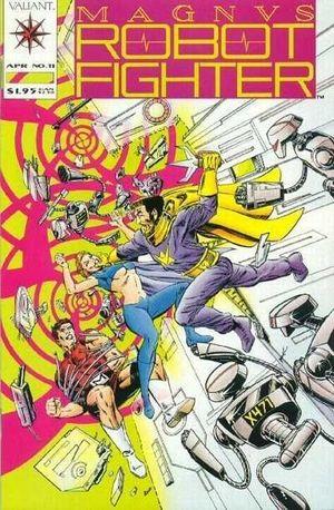 MAGNUS ROBOT FIGHTER (1991 VALIANT) #11