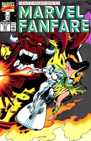 MARVEL FANFARE (1982 1ST SERIES) #51