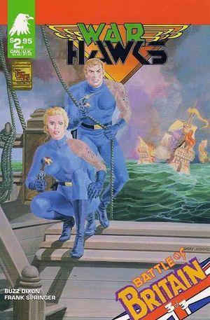 WARHAWKS COMICS MODULE (1990) #9