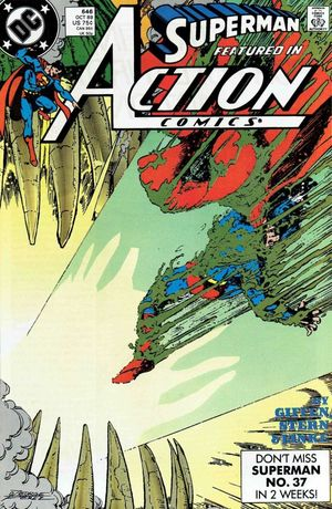 ACTION COMICS (1938 DC) #646