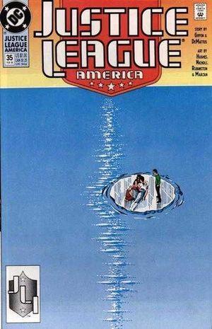 JUSTICE LEAGUE AMERICA (1987) #35
