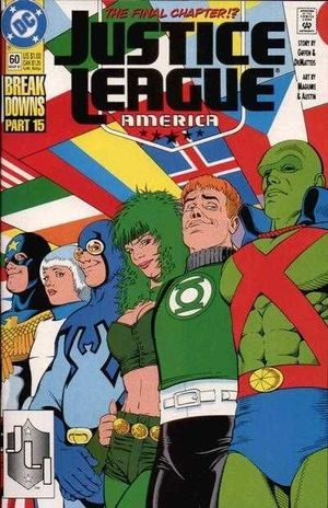 JUSTICE LEAGUE AMERICA (1987) #60