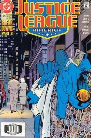 JUSTICE LEAGUE AMERICA (1987) #54