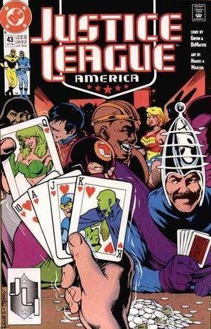 JUSTICE LEAGUE AMERICA (1987) #43