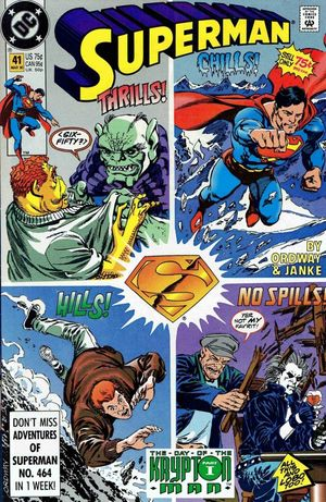 SUPERMAN (1987 2ND SERIES) #41