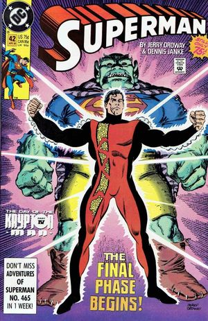 SUPERMAN (1987 2ND SERIES) #42