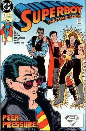 SUPERBOY (1990 2ND SERIES) #5